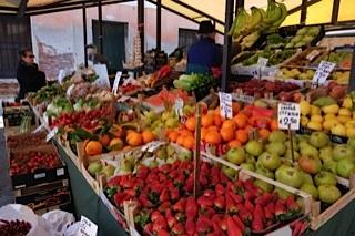 Rialto food market, Venice