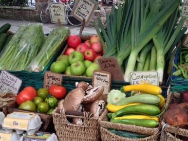 vegetable-stall