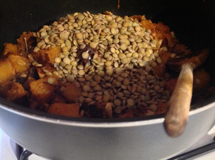 squash-and-lentils